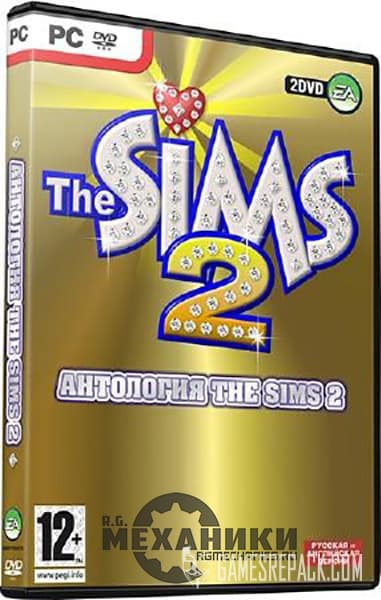The Sims 2: Anthology | The Sims 2: Антология (RUS|ENG) [Repack] от R.G. Механики