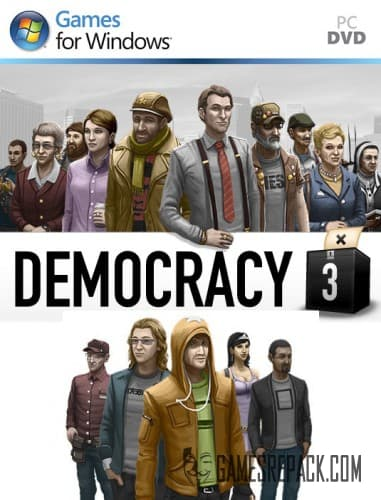 Democracy 3 (Positech Games) (RUS) [RePack] от xatab