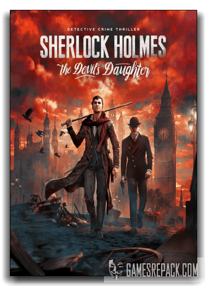 Sherlock Holmes: The Devil's Daughter (Frogwares) (RUS|ENG|UKR) [RePack] от xatab
