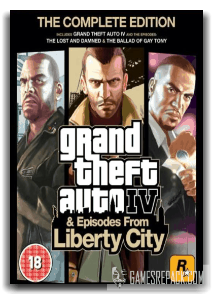 Grand Theft Auto IV - The Complete Edition  (2010-2020)  [Repack] от xatab