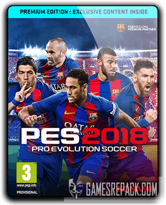 Pro Evolution Soccer 2018 FC Barcelona Edition (2017) RePack от qoob