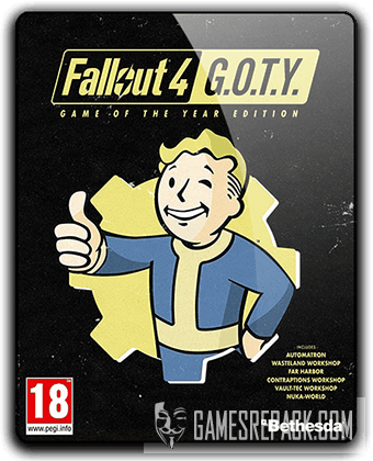 Fallout 4 Game of the Year Edition (2015) RePack от qoob