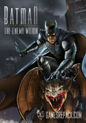 Batman: The Enemy Within - Episode 1-5 (RUS|ENG) (2017) [RePack] от xatab