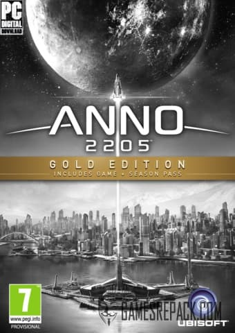 Anno 2205: Gold Edition (Ubisoft) (RUS/ENG/MULTI6) [Repack] by FitGirl