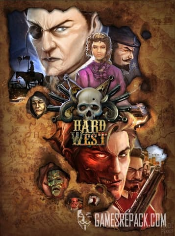 Hard West (PlayWay) (RUS/ENG/MULTI5) [Repack] by FitGirl