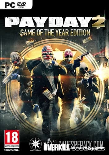 PayDay 2 (RUS/ENG/MULTI7) [Repack] by FitGirl