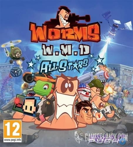 Worms W.M.D. (Team17) (RUS/ENG/MULTI8) [Repack] by FitGirl