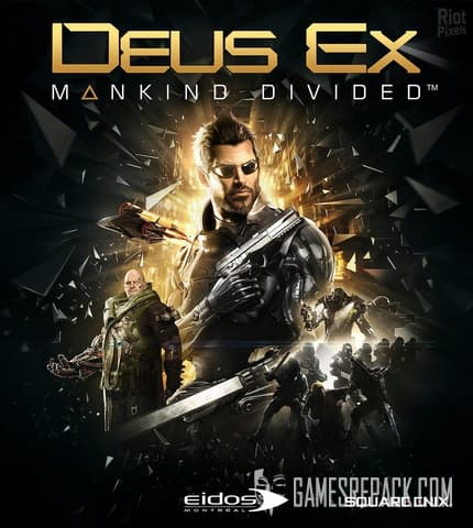 Deus Ex: Mankind Divided - Digital Deluxe Edition (Square Enix) (RUS/ENG/MULTI8) [Repack] by FitGirl