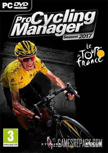 Pro Cycling Manager Season 2017 (Focus Home Interactive) (ENG/MULTI10)  [Repack] by FitGirl
