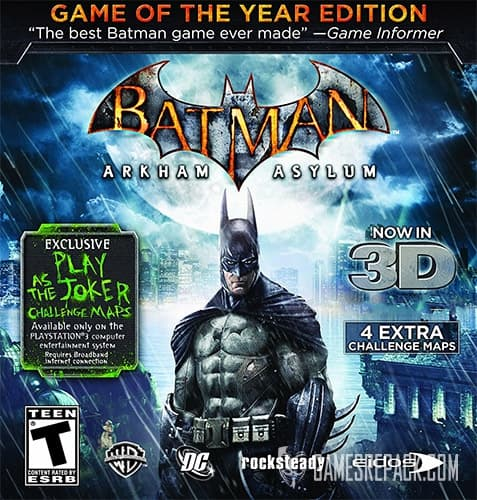 Batman: Arkham Asylum - Game of the Year Edition (Eidos Interactive) (RUS/ENG) [Repack] by FitGirl