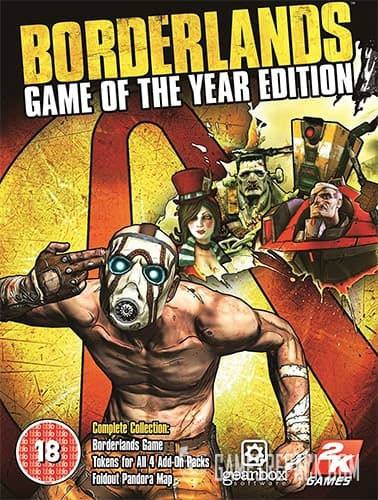 Borderlands: Game of The Year Edition (RUS/ENG) [Repack] by FitGirl