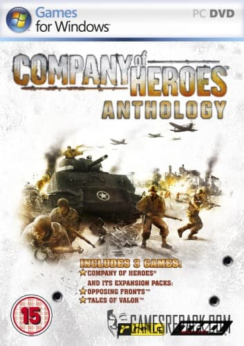 Company of Heroes. Anthology (THQ/SEGA/Бука) (RUS/ENG) [Lossless Repack] от R.G. Catalyst