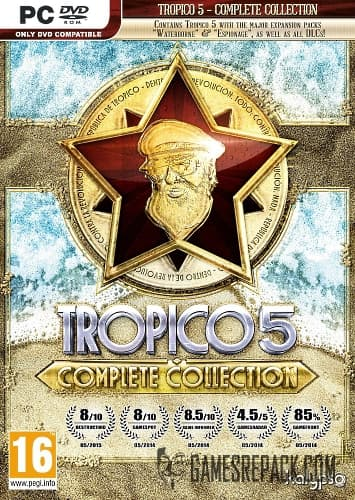 Tropico 5 - Complete Collection (Бука/Kalypso Media) (RUS/ENG/MULTi6) [Repack] от R.G. Catalyst