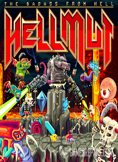 Hellmut: The Badass From Hell (Grindstone) (RUS/ENG/MULTi) [GOG]