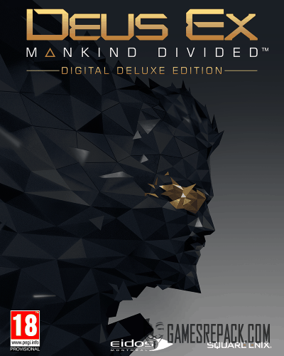 Deus Ex: Mankind Divided - Digital Deluxe Edition (Бука/Square Enix) (RUS/ENG/MULTi8) [Repack] от R.G. Catalyst