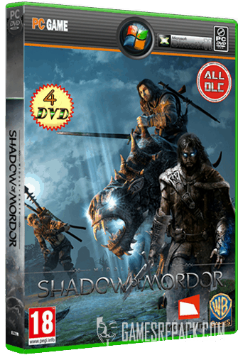 Middle-Earth: Shadow of Mordor - Game of the Year Edition (2014) Repack от =nemos=