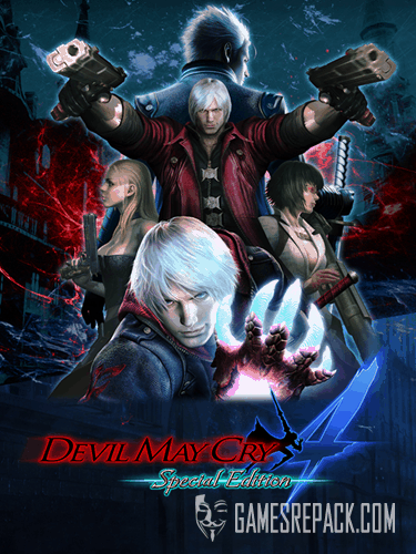 Devil My Cry 4 Special Edition (CAPCOM Co., Ltd.) (ENG/RUS/MULTI7) [Repack] от R.G. Catalyst
