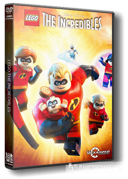 LEGO The Incredibles (RUS|ENG) [RePack] от R.G. Механики