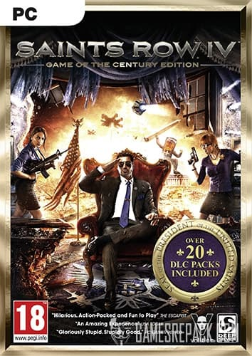 Saints Row 4: Game of the Century Edition (2014) (RUS/ENG/MULTI) [Repack] by FitGirl
