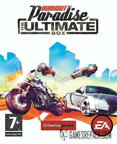 Burnout Paradise: The Ultimate Box (2009) (RUS/ENG) [Repack] by FitGirl