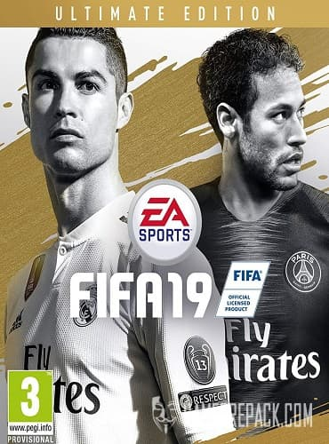 FIFA 19 Ultimate Edition (Electronic Arts) (RUS|ENG|MULTi) [Origin-Rip]