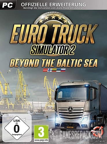 Euro Truck Simulator 2 - Beyond the Baltic Sea (SCS Software) (RUS|ENG|MULTi23) [L]