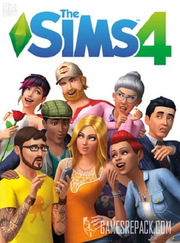 The Sims 4: Deluxe Edition (RUS/ENG/MULTI17) [Repack] by FitGirl