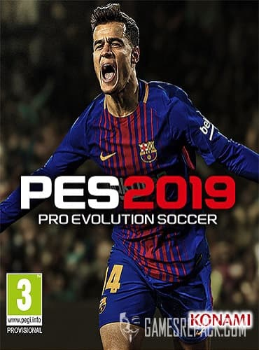 Pro Evolution Soccer 2019  (RUS/ENG) [Repack] by FitGirl