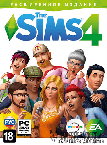 The Sims 4: Deluxe Edition  (2014) RePack от xatab