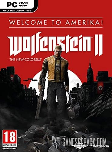 Wolfenstein II: The New Colossus (RUS/ENG) [Repack] by FitGirl