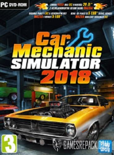 Car Mechanic Simulator 2018 (RUS|ENG|MULTi12) [RePack] by xatab
