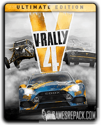 V-Rally 4: Ultimate Edition [v 1.04 + DLCs] (2018) RePack от qoob