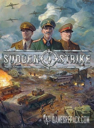 Sudden Strike 4 (Kalypso Media Digital) (ENG/RUS) [Repack] от R.G. Catalyst