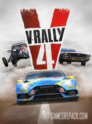 V Rally 4 (Bigben Interactive) (ENG/RUS|MULTI11) [Repack] от R.G. Catalyst