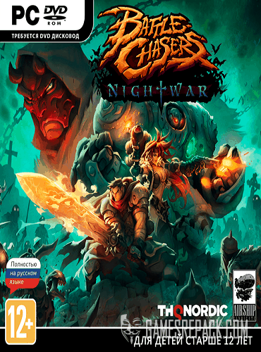 Battle Chasers: Nightwar (THQ Nordic GmbH) (RUS/ENG/MULTI11) [Repack] от R.G. Catalyst