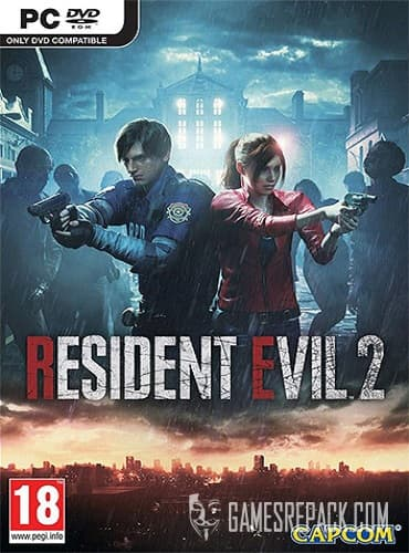 RESIDENT EVIL 2: Deluxe Edition (RUS/ENG/MULTI12) [Repack] by FitGirl