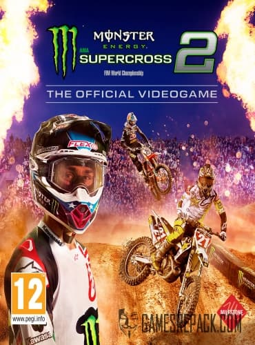 Monster Energy Supercross - The Official Videogame 2 (Milestone S.r.l.) (ENG|MULTi7) [L]