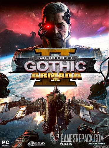 Battlefleet Gothic: Armada 2 (RUS/ENG/MULTI6) [Repack] by FitGirl