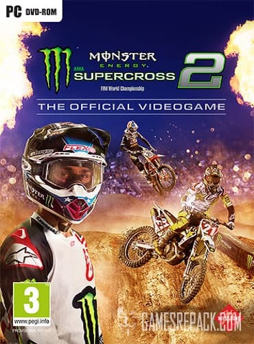 Monster Energy Supercross: The Official Videogame 2 (ENG/MULTI7) [Repack] by FitGirl