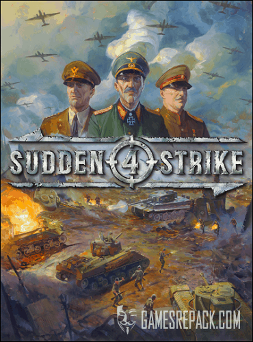 Sudden Strike 4 - The Pacific War (Kalypso Media Digital) (RUS|ENG|MILTi11) [L]