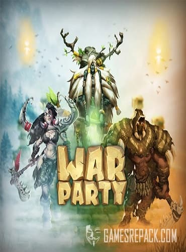 Warparty (Warcave, Crazy Monkey Studios) (ENG/RUS/Multi11) [Repack] от R.G. Catalyst