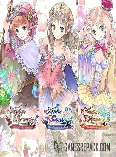 Atelier Arland series Deluxe Pack (ENG/MULTI4) [Repack] by FitGirl
