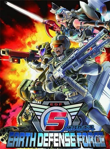 Earth Defense Force 5 (ENG/MULTI4) [Repack] by FitGirl