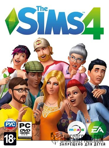 The Sims 4 all DLC (Electronic Arts) (RUS/ENG/MULTi17) [L]