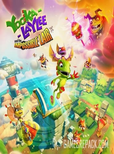Yooka-Laylee and the Impossible Lair (Team17 Digital LTD) (ENG|MULTI) [GOG]