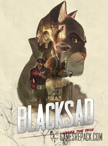 Blacksad: Under the Skin (Microids) (RUS|ENG|MULTi7) [L]