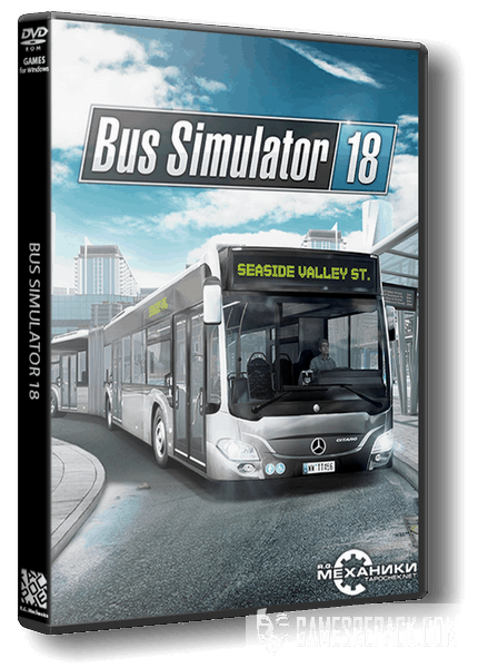 Bus Simulator 18 (RUS|ENG|MULTI12) [RePack] от R.G. Механики