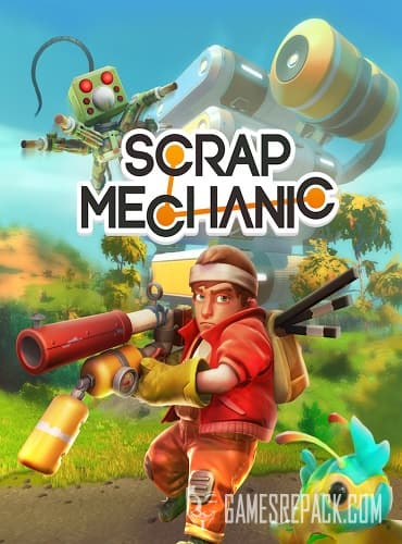 Scrap Mechanic Survival (Axolot Games) (RUS|ENG|MULTi9) (Early Access) [P]