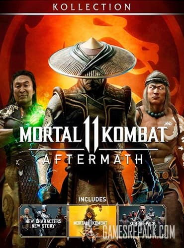 Mortal Kombat 11 (Warner Bros Interactive Entertainment) (RUS|ENG|MULTi) [SteamRip] vano_next