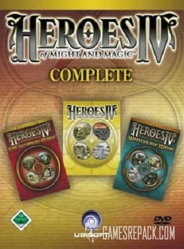 Heroes of Might and Magic 4 Complete (2004) RePack от xatab